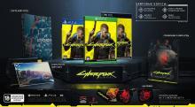 Cyberpunk 2077 наборы и цифровые бонусы