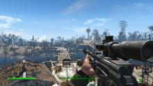 ак-47 и СВД в Fallout 4